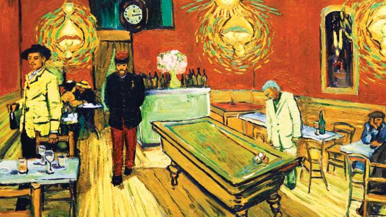 scena del film Loving Vincent