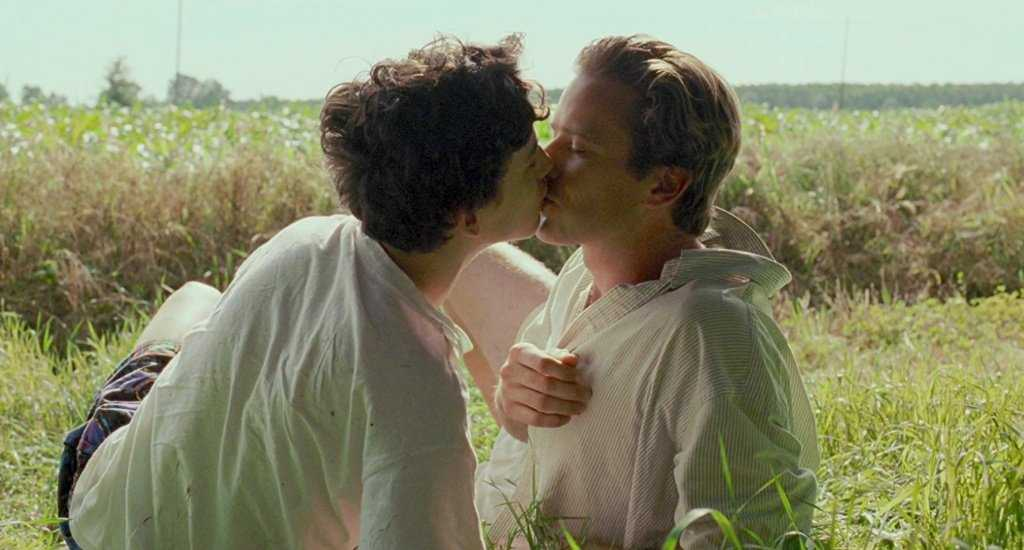 Armie Hammer e Timothée Chalamet in Call Me by Your Name (2017) film