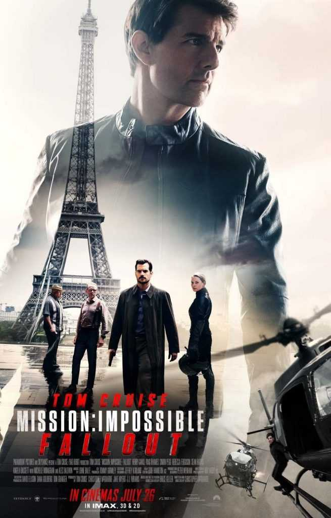Locandina di Mission: Impossible Fallout