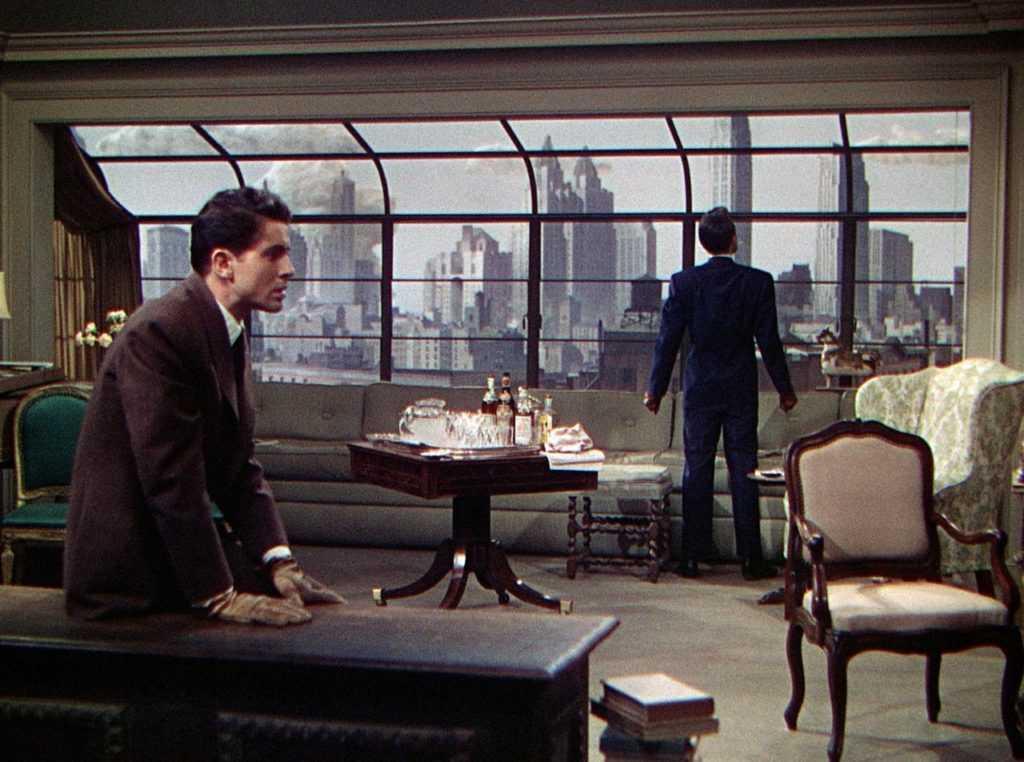 I due assassini nella scena iniziale