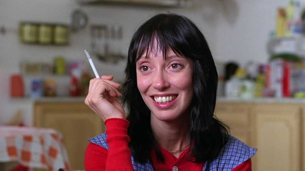Shelley Duvall in The Shining